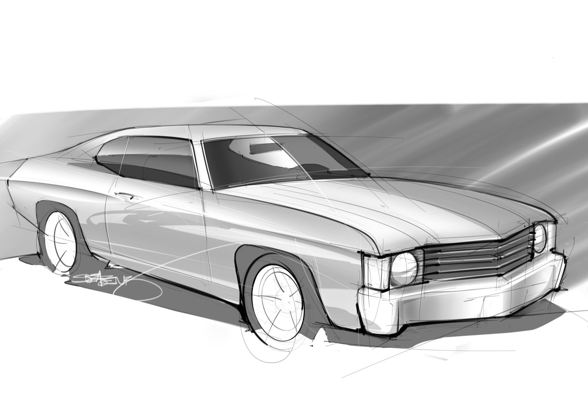 Muscle Car Scottdesigner