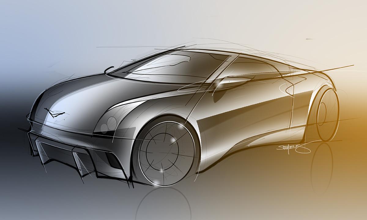 350z concept car rendering